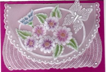 Parchment Craft/Pergamano Cards. / by Anne-Marie Bezzina