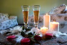 Saint valentin en chambre d'hôte. / Ambiance autour de la saint Valentin.