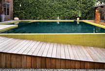 swimming pools / pools in the garden with landscaping ideas