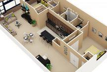House 3D Plans