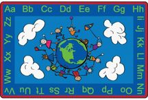 Rugs & carpets / Check out our great selection of carpets! From Alphabet Fun, Phonics & Numbers to Seating and Solid Colors.