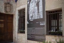 Marc Chagall, portrait d'un voyageur / Exposition de photographies dans les rues du village et au Musée de Saint-Paul de Vence réalisée par www.exhibitgroup.fr