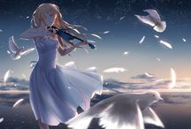 Anime violin