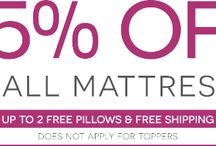 Promos and Sales / Get the best deals on mattresses only from Bedding Stock.