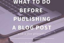 Blog Tips / Tips for bloggers