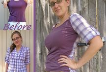 Shirt, Top Upcycle, Refashion / by Kathryn Pennal