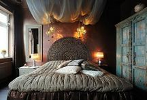 bedrooms / by Mickie Berry
