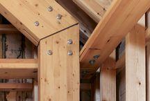 Holzkonstruktion / Verbindungen