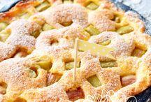 Rhabarber Rezepte ★ Rhubarb recipes / Köstliche Rezepte mit Rhabarber, mal im Kuchen, mal im Dessert oder als Marmelade :-)