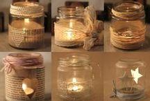 Rustic Christmas Mason Jar