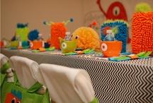 monster birthday theme / by Brandy Rivera