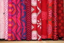 Indian Blockprint Fabrics - color your life / Handmade Cotton fabrics by the yard - to be ordered at www.karlottapink.com