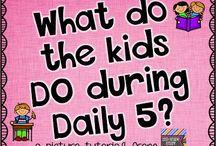 Daily 5 / by Vanessa Martinez