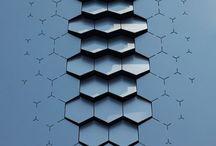 геометрические формы на поверхностях
