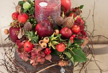 holiday: christmas / floral decor ideas for christmas