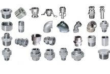 Stainless Steel Fittings Components / We have been manufacturing and supplying Stainless Steel fitting component with various sizes in order to fulfil customer's needs and requirements.