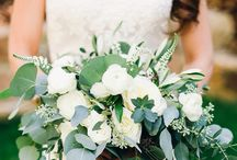 Bride and BMs bouquets