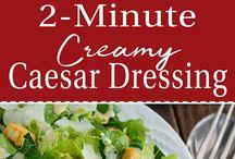 Main Course Salad Recipes / Salad recipes served as a main course.