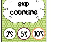 Counting/Skip Counting / by Selby Fowler