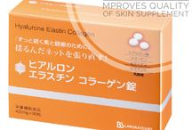Japanese Cosmetic Beauty Goods and Supplement