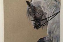 TONY O'CONNER / Horse painter