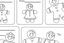 Christmas cards coloring page / This page has lots of printable christmas cards for kids,parents and teachers.
