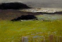 abstract landschap / landschappen
