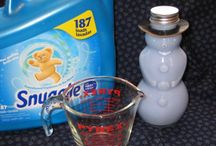 DIY ... Cleaners & Products / These are cleaners and other items I've come across that I would like to try!