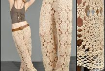 crochet trousers
