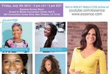 Google/ESSENCE / Come and see me this 4th of July in New Orleans!! I was invited by Google/ESSENCE to speak on a panel with a fabulous group of women moderated by Soledad O'Brien!