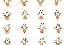 poronumerot joulukalenteriin