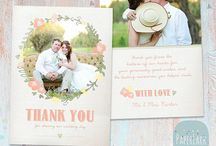 Thank You Card / Thank You Card Ideas, Wedding Stationery, Printable Card, Invitation, Wedding Invitation Suite