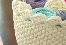 crochet buskets