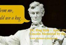 Hugs Hugs & More Hugs / We can all use a HUG...or two...or three!  http://www.thehooraydaily.com/dc-hug-mob.html