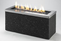 Modern Fire / Fire pits and fireplaces with a modern twist!