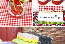 Picnic party theme