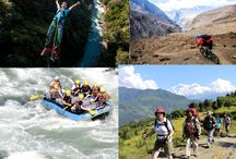 Adventure Travel In Nepal / Adventure travel is a type of tourism, involving exploration or travel with perceived risk, and potentially requiring specialized skills and physical exertion.