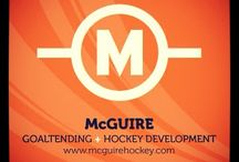 McGuire Goaltending / Pictures of our Camps, Clinics and Lessons from over the years  www.mcguirehockey.com