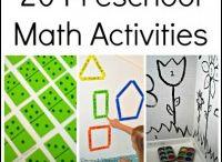 Preschool - Math