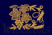 Asma üzüm  desenleri