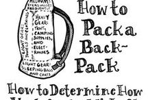 Backpacking and travel hacks, equipment and stash
