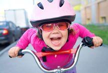 Wear a Helmet / Stay safe this summer! Always wear a helmet when you bike!
