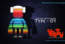 Yang Toys - Texture Application / Texture Application