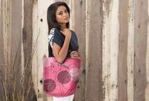 VIDA design / Scarfs and tote bag