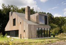houten woningen