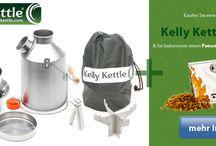 Kelly Kettle Sturmkanne / Die brühmte Kellly Kettle Sturmkanne auch Volcano Kettle genannt, beliebter Wasserkocher aus Irland.