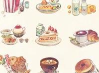 Ilustraciones comida / by Pcg Cruz Garcia