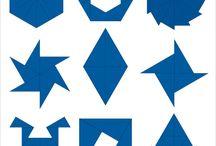 maths triangles + poligons