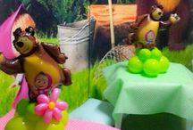 Masha and the bear / Masha and the Bear Party Birthday