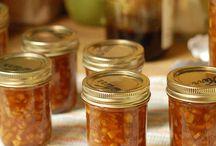 Food - Stuff for Toast   Jam, Marmalade, Honey, Butter etc / Preserving the harvest - jam, marmarlade, honey, butter, jelly, chutney, relish, pickle, sauce, paste..... etc etc